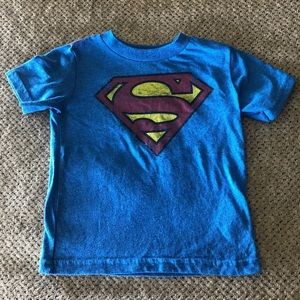 Superman shirt 18m